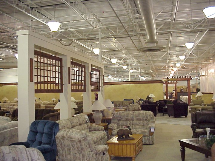 Ashley furniture home store bfl construction for Furniture warehouse