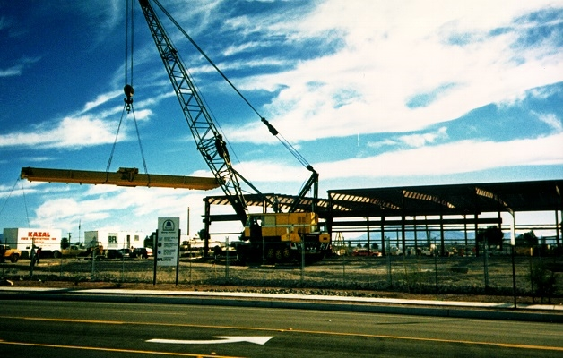 Marathon LeTourneau crane sized inside portfolio