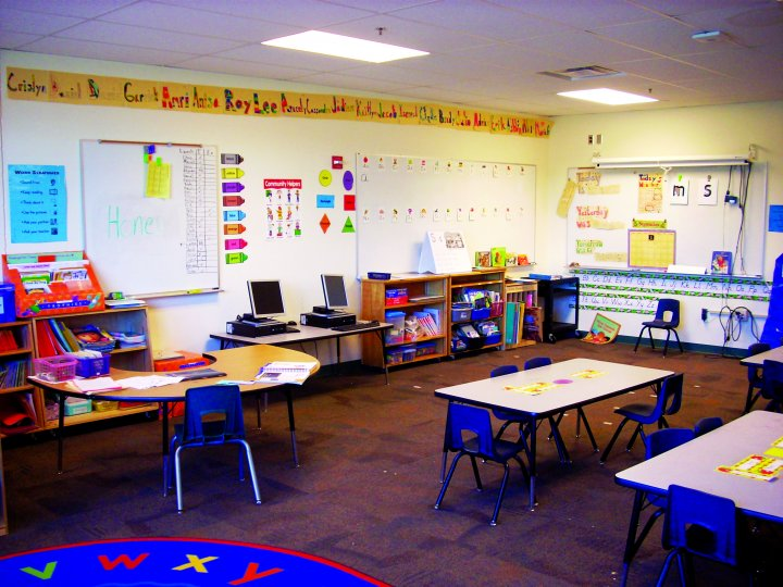 Elementary Classroom Pictures : Vesey elementary school classroom addition bfl construction